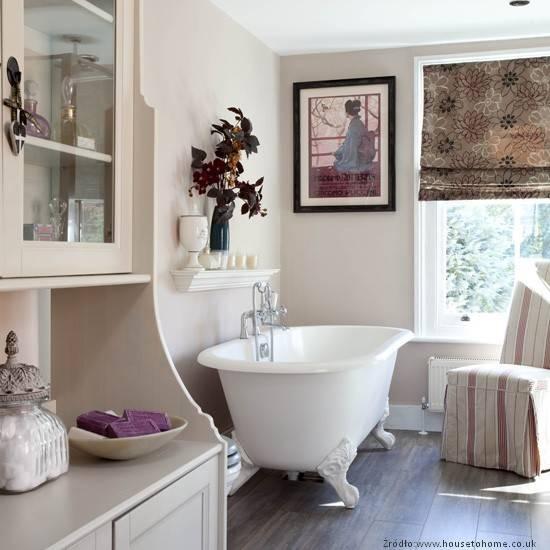 Małe I Duże Stylizacje łazienki Retro Łazienki