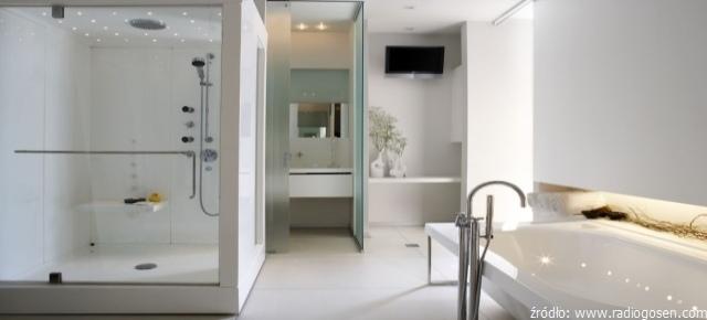 łazienki Z Prysznicem W Różnych Wariantach łazienki Projekty