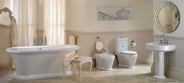 Małe I Duże Stylizacje łazienki Retro łazienki Projekty