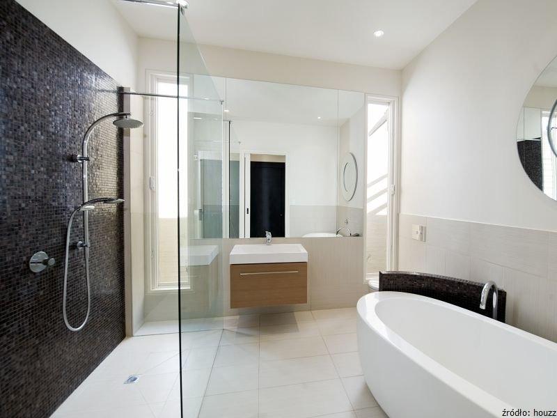 Kabiny Prysznicowe Typu Walk In łazienki Projekty