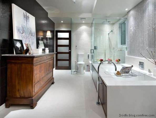 łazienka wkobiecym stylu