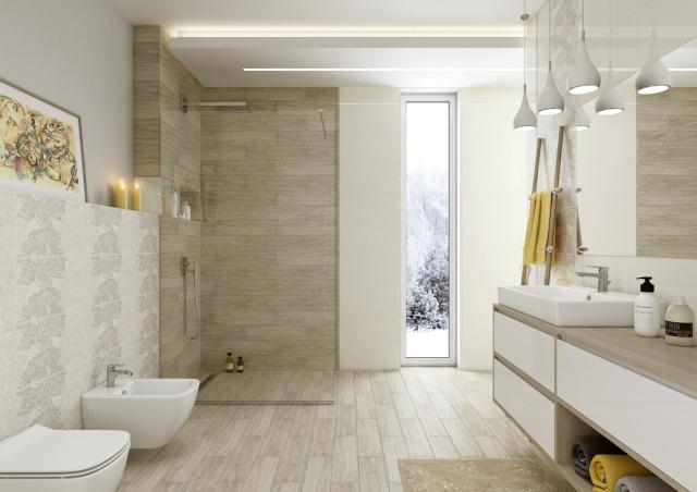 łazienka W Ponadczasowych Kolorach łazienki Projekty
