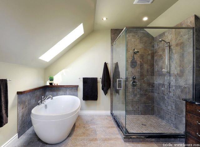 łazienka Na Poddaszu O Czym Pamiętać łazienki Projekty