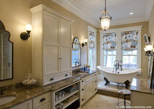 Łazienka wstylu klasycznym