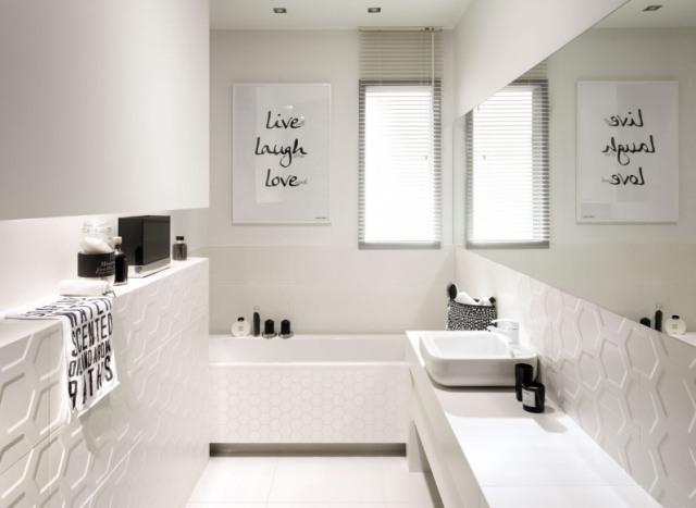 Płytki I Dekory Z Efektem 3d łazienki Projekty Zdjęcia
