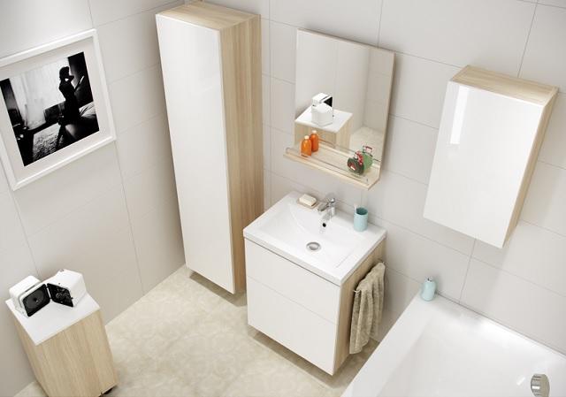 Pomysłowe Aranżacje Małych łazienek łazienki Projekty Zdjęcia