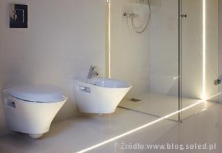 Montaż Taśm Led W Fugach łazienki Projekty Zdjęcia
