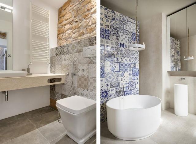 Najmodniejsze Wzory Płytek łazienkowych łazienki