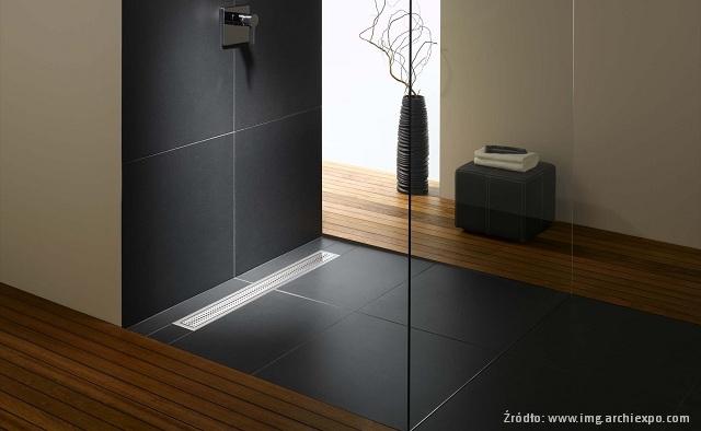 odwodnienia prysznicowe punktowe czy liniowe azienki. Black Bedroom Furniture Sets. Home Design Ideas