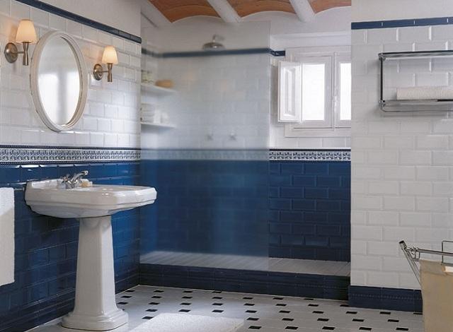 Łazienka wstylu hiszpańskim