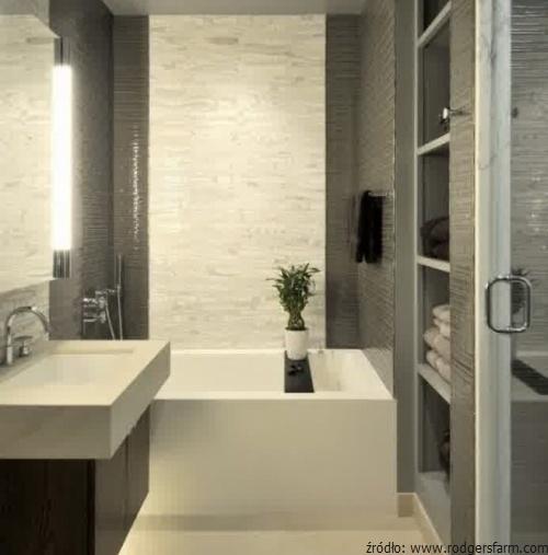 Funkcjonalna łazienka W Bloku łazienki Projekty Zdjęcia