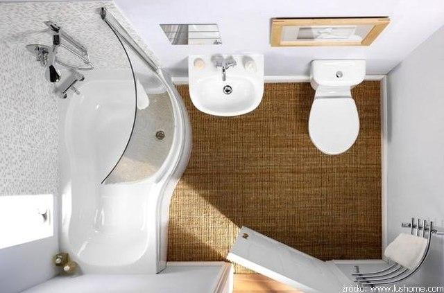 Mała łazienka Z Wanną łazienki Projekty Zdjęcia
