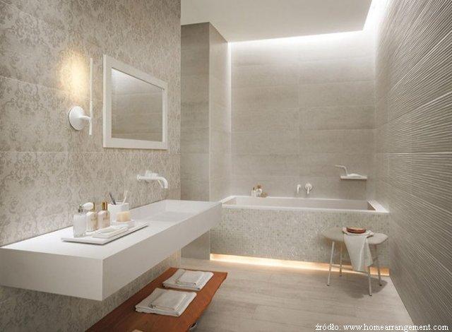Wykończenie łazienki Płytkami Farbą Czy Tapetą łazienki