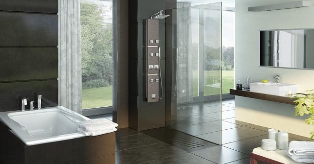 Panel prysznicowe stone deante