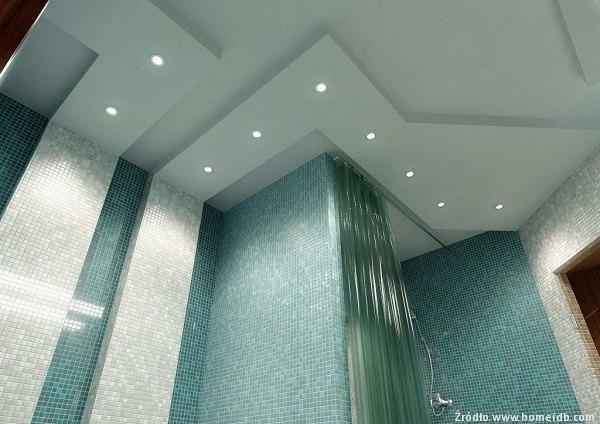 Efektowne Dekoracje świetlne W łazience łazienki