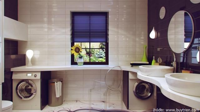 Pralka W łazience Czy W Kuchni łazienki Projekty