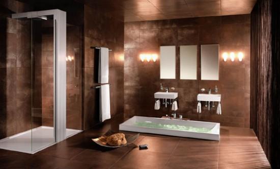 p ytki o metalicznej strukturze oryginalne i nietypowe aran acje azienek azienki. Black Bedroom Furniture Sets. Home Design Ideas