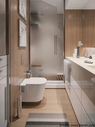 Wąska łazienka Jak Poprawić Jej Proporcje łazienki