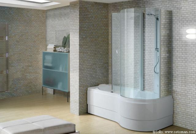 Wanna z prysznicem, czyli dwa w jednym - Łazienki ...