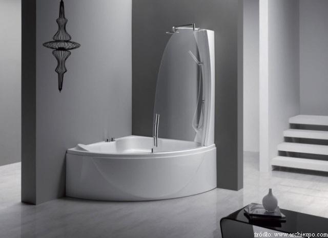 Wanna Z Prysznicem Czyli Dwa W Jednym łazienki Projekty