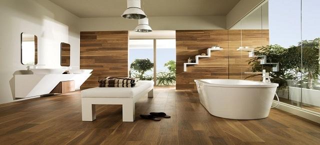 Płytki Drewnopodobne Do łazienki łazienki Projekty
