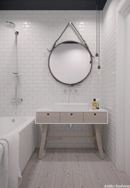Dodatki Do łazienki W Skandynawskim Stylu Oświetlenie